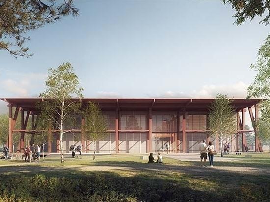 Aleksander Wadas presenta la propuesta de un Museo Nacional de la Madera y Centro de Competencia para los Humedales en Noruega