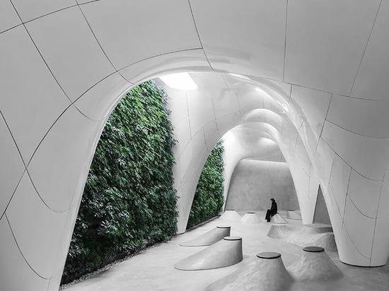 Cueva de hielo de Omid Amini y Fatemeh Salehi Amiri