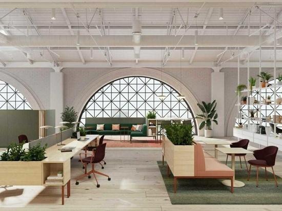Los muebles modulares de Stylex abordan el lugar de trabajo del futuro