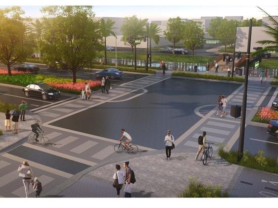 Diseño conceptual: West Atlantic Boulevard, Pompano Beach.