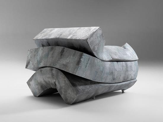 De un metro cúbico de gomaespuma a una obra de arte funcional