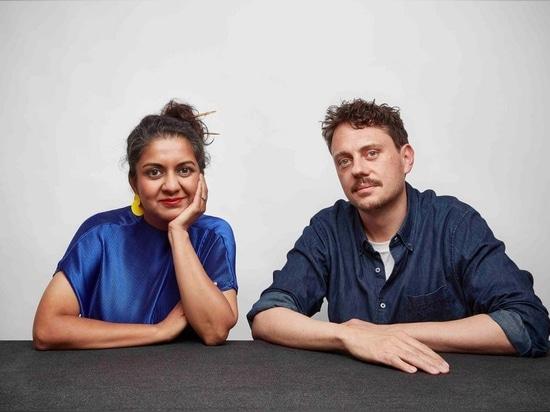 Los cofundadores de Superflux, Anab Jain y Jon Adern. Fotografía: Mark Cocksedge