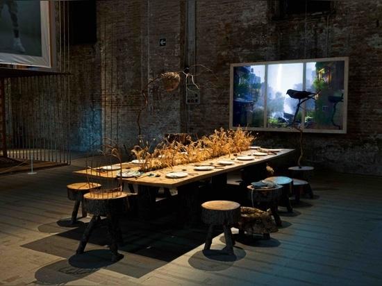 Refugio para el resurgimiento, en la Bienal de Arquitectura de Venecia 2021. Fotografía: Giorgio Lazzaro
