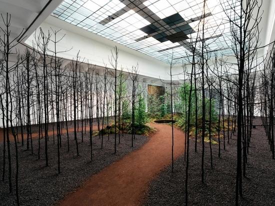 Invocación a la esperanza en el Museo de Artes Aplicadas como parte de la Bienal de Viena para el Cambio 2021. Fotografía Gregor Hofbauer