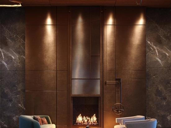 El Cortland estrena interiores inspirados en la artesanía de Olson Kundig