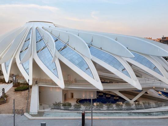 Santiago Calatrava presenta los pabellones de EAU y Qatar en la Expo 2020 de Dubai