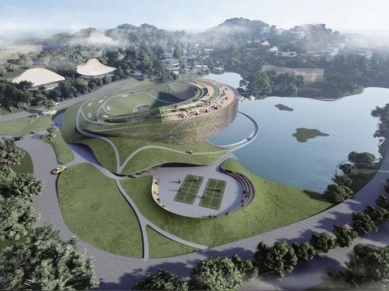 """Tales from the loop"""" es un conjunto de puertas dispersas en medio de una antigua zona boscosa china"""
