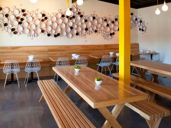 los arquitectos de Fleetwood/de Fernández diseñan el restaurante de la fiebre amarilla en LA