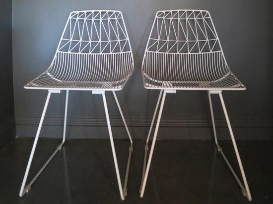 sillas de las mercancías de la curva