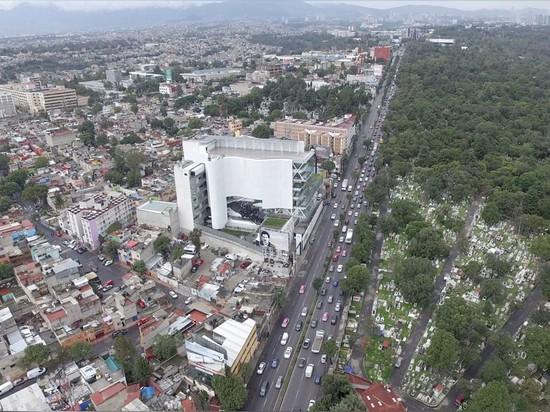 ¿el campus está situado en Ciudad de México? constituyentes del avenida de s