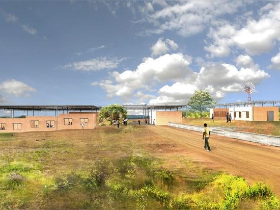 Annabelle Selldorf diseña la nueva escuela primaria para Zambia rural