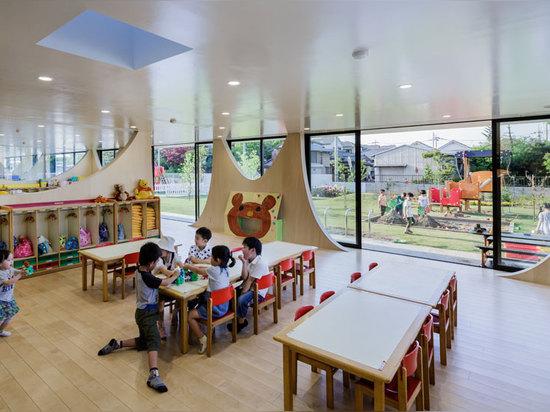 el cuarto de niños se emplea una filosofía de una educación juego-basada, niños encouraging para desarrollar su pensamiento activamente