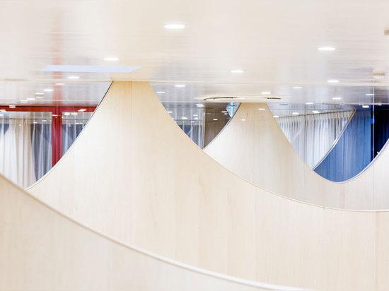 las visiónes borrosas, dispersión de la luz son los elementos que contribuyen al uso de las paredes distintivas