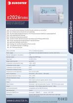 Euroster 2026TXRX
