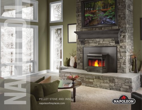 PELLET STOVE AND INSERT