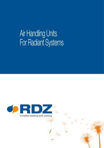RDZ air handling units