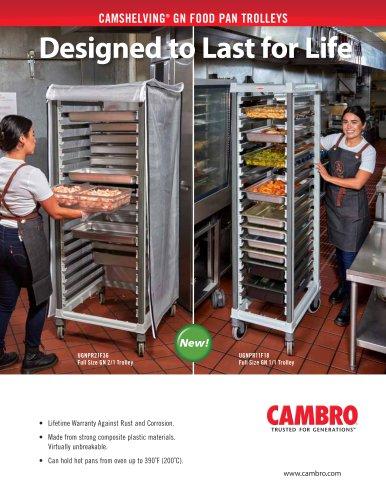 CAMSHELVING®  GN FOOD PAN TROLLEYS