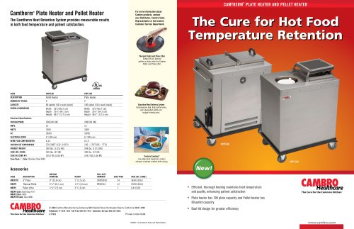 Camtherm® Plate Heater and Pellet Heater