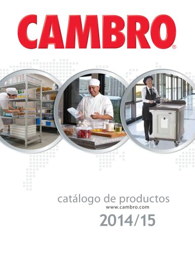 Catálogo de productos 2014/15