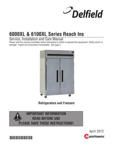 6000XL & 6100XL Series Reach Ins