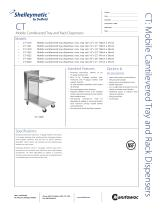 CT Mobile Cantilevered Tray and Rack Dispensers