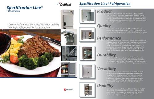 Specification Line® Refrigeration