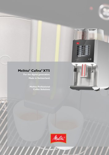 Melitta® Cafina® XT5
