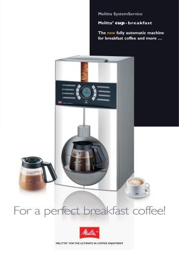 Melitta cup-breakfast
