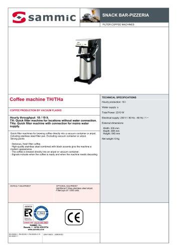 Coffee machine TH/THa