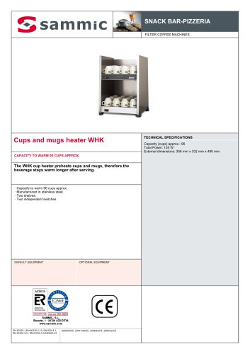 Cups and mugs heater WHK