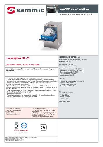 Lavavajillas SL-23