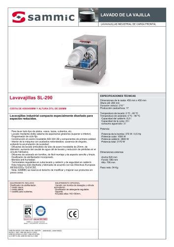 Lavavajillas SL-290