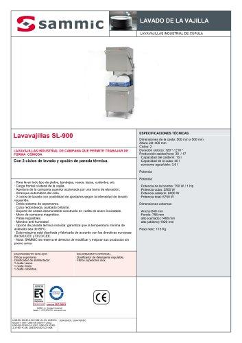 Lavavajillas SL-900
