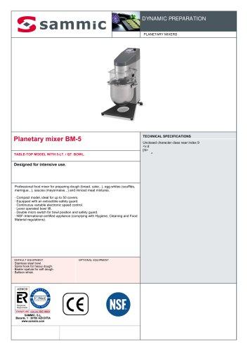 Planetary mixer BM-5