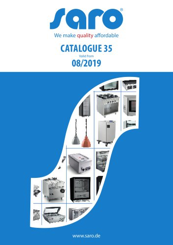 Saro catalogue no. 35