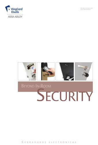Electronic hotel locking solutions