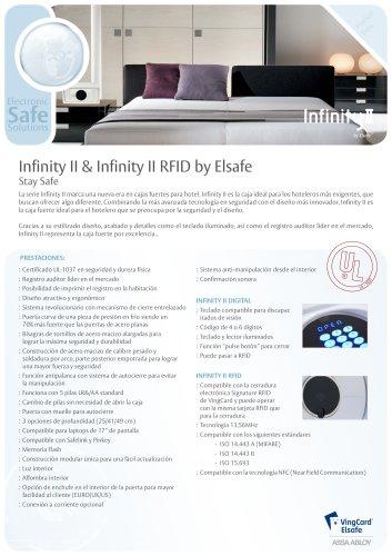 Infinity ll & Infinity II RFID by Elsafe