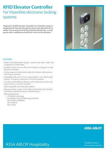 RFID Elevator Controller