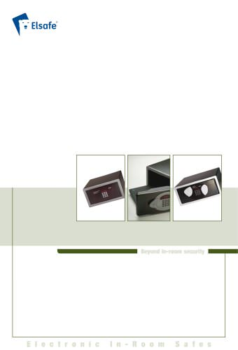 VingCard safe brochure