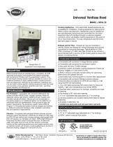 Universal Ventless Hood MODEL ❏ WVU-72
