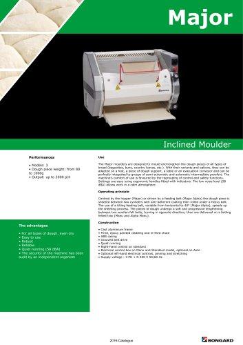 Major Inclined Moulder