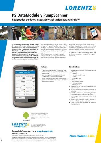 PS Registrador de datos integrado y aplicación para Android