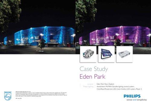 Case Study Eden Park