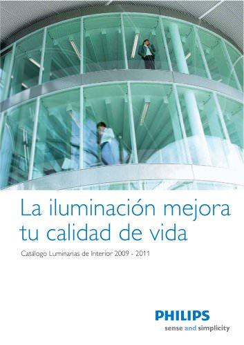 Catálogo Luminarias de Interior