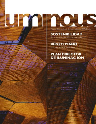 Luminous: Revista Internacional de Luminotecnia Nº3
