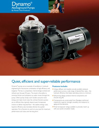 Dynamo® Pumps With Cord & Base