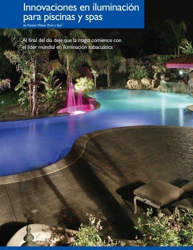 Innovaciones en iluminación para piscinas y spas