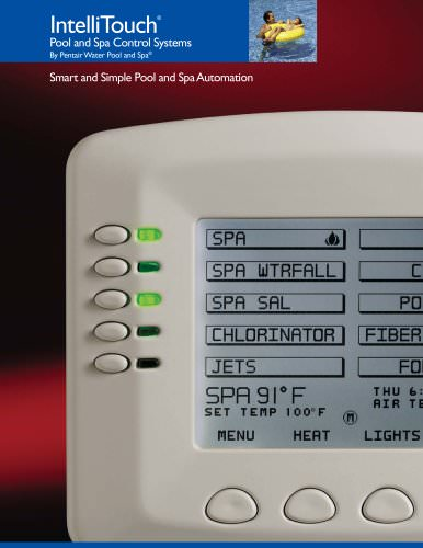 IntelliTouch Spa-Side Remote Controls