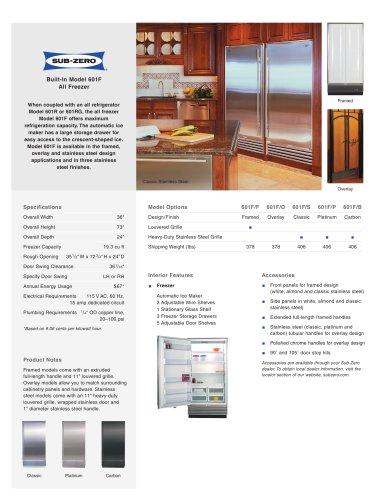 601F All Freezer