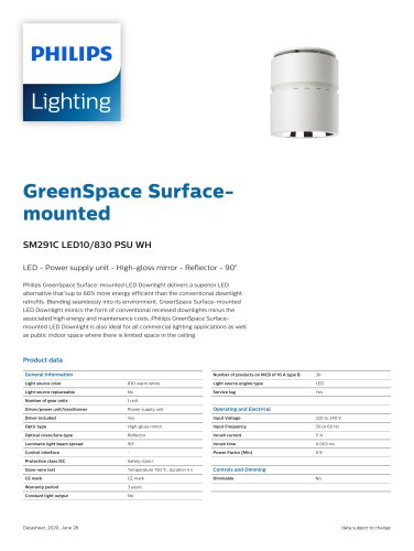 GreenSpace Surface-mounted